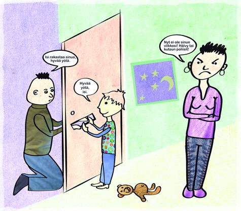 Avoero ja lapsi